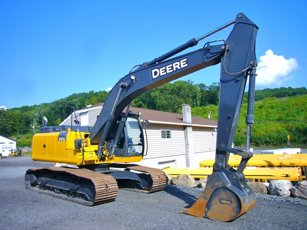 2012 John Deere 210G-LC Excavator for sale by Arthur Trovei & Sons ...