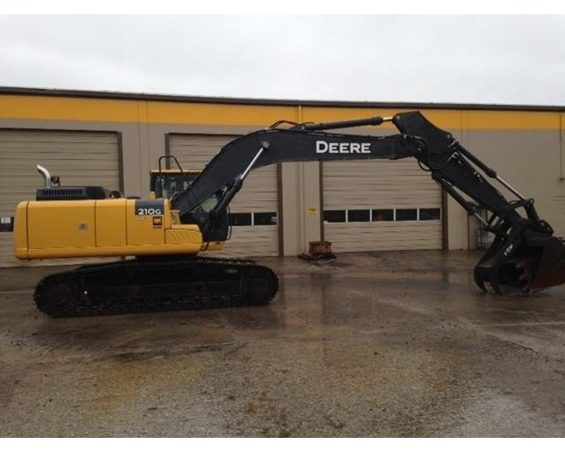 2012 John Deere 210G LC Crawler Excavator For Sale - Portland, OR ...