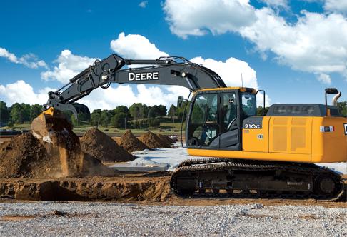 Excavadora 210G LC de John Deere