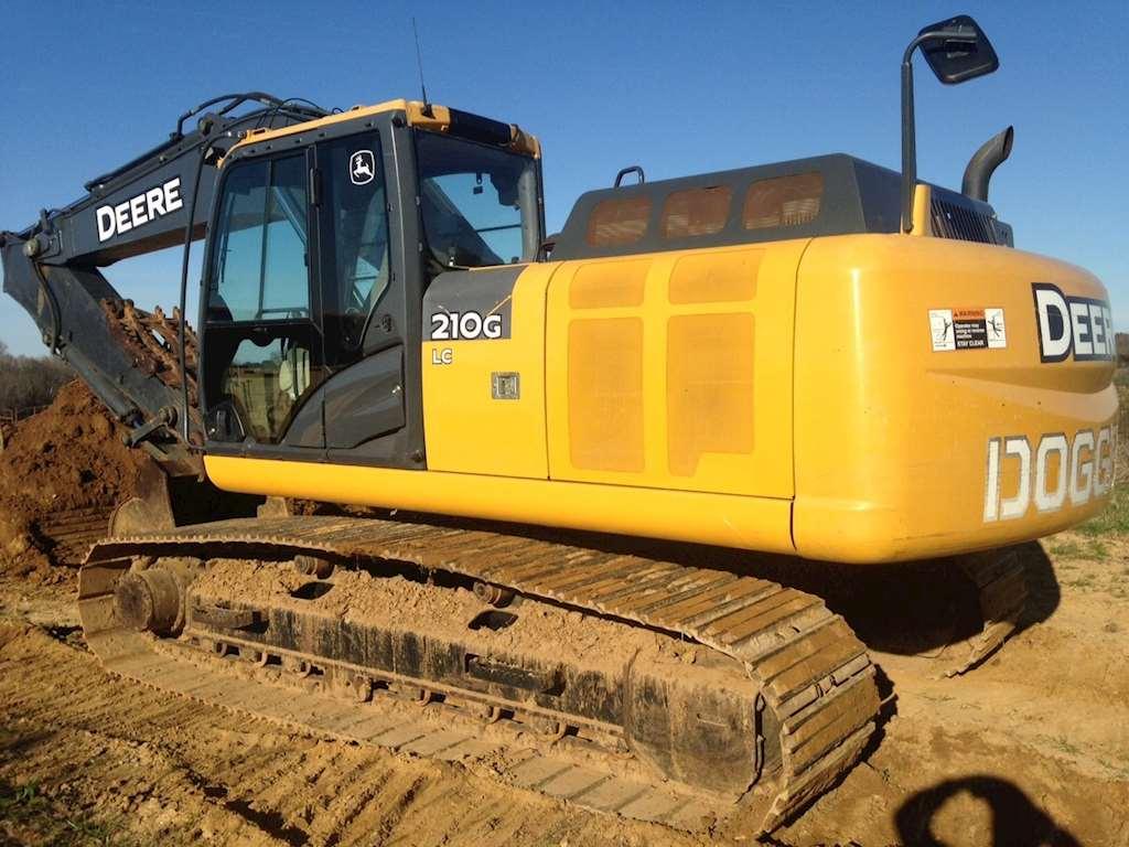 2013 John Deere 210G LC Excavator For Sale | Montgomery, AL | 9014781 ...