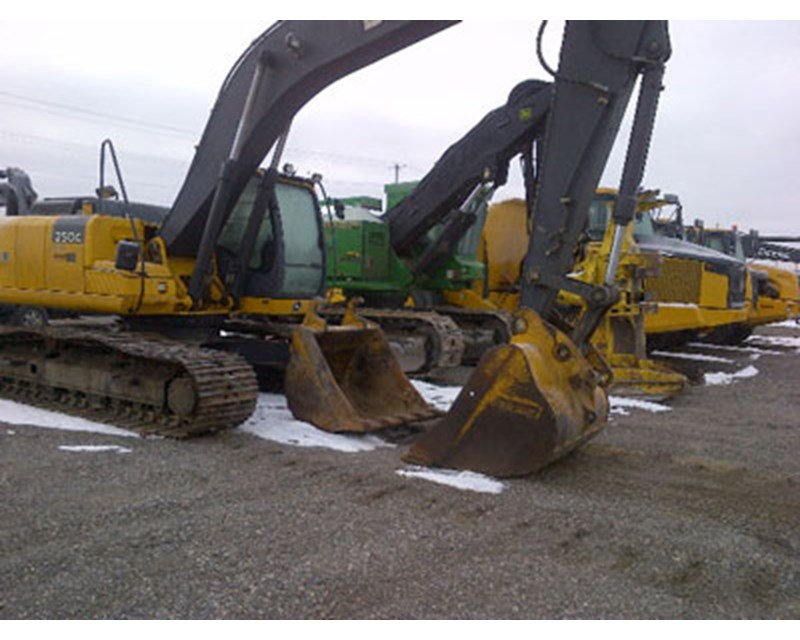 2013 John Deere 250G LC Excavator Recently Updated