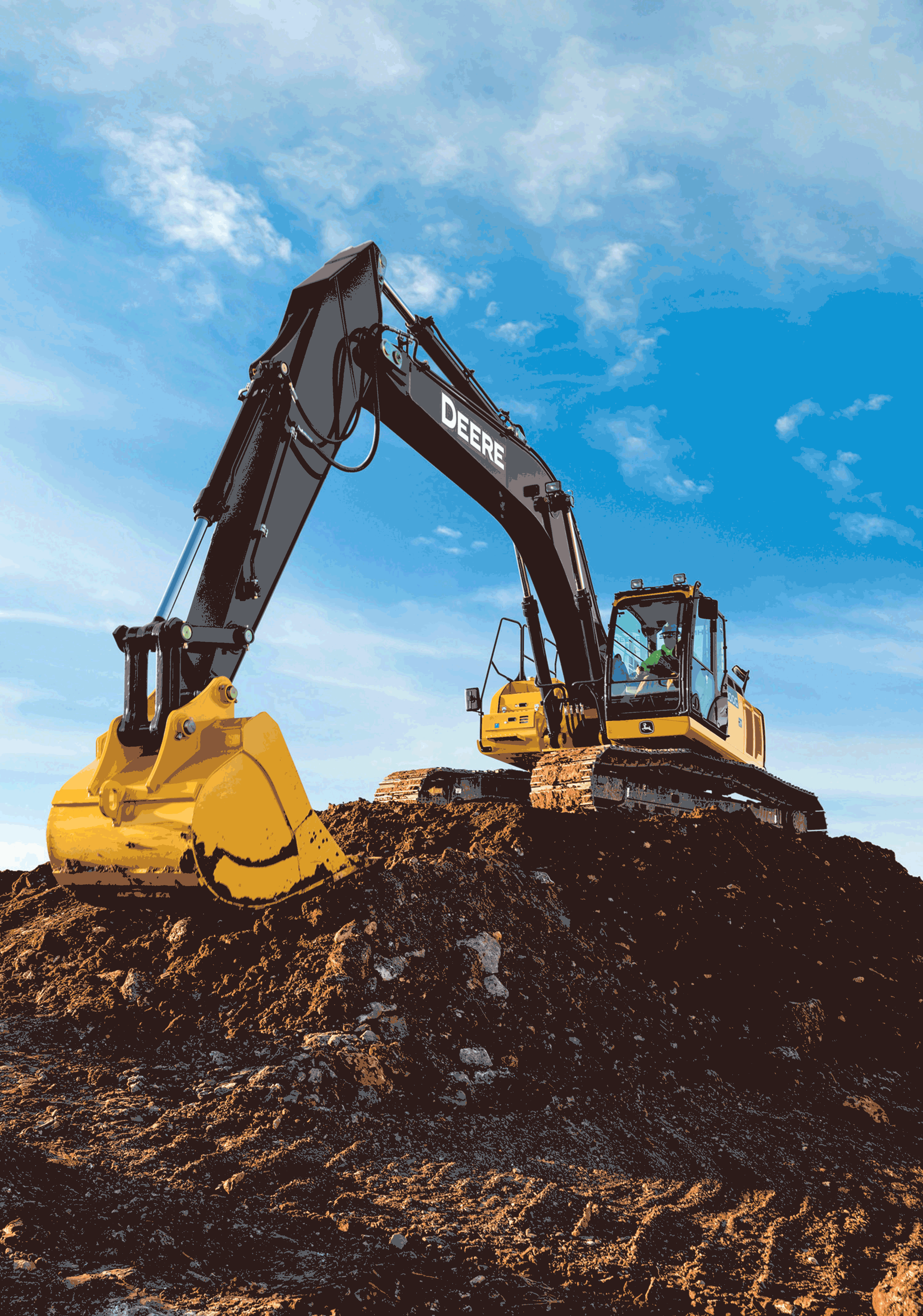 John Deere Adds 300G LC to Final Tier 4 G-Series Excavator Lineup