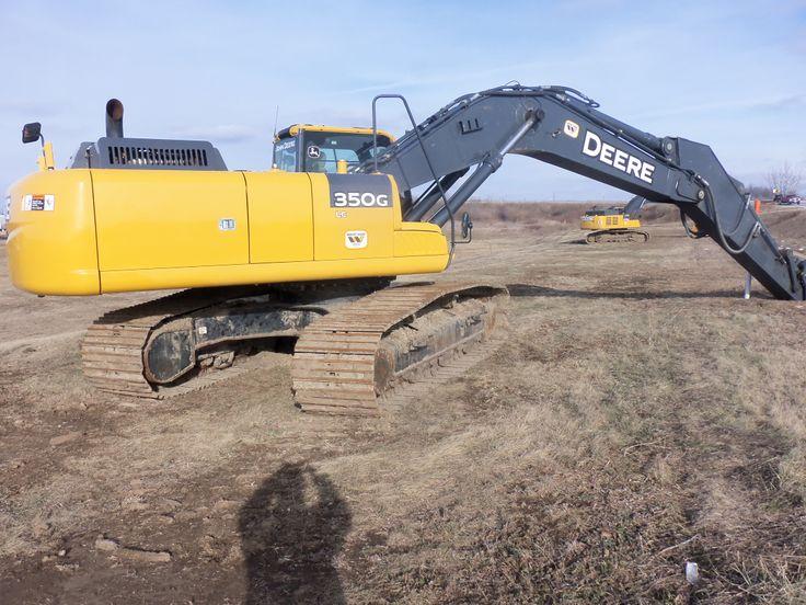 John Deere 350G LC excavator | JD construction equipment | Pinterest