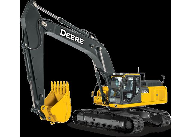 Excavator with Tier 4 Engine | 350G LC | John Deere US