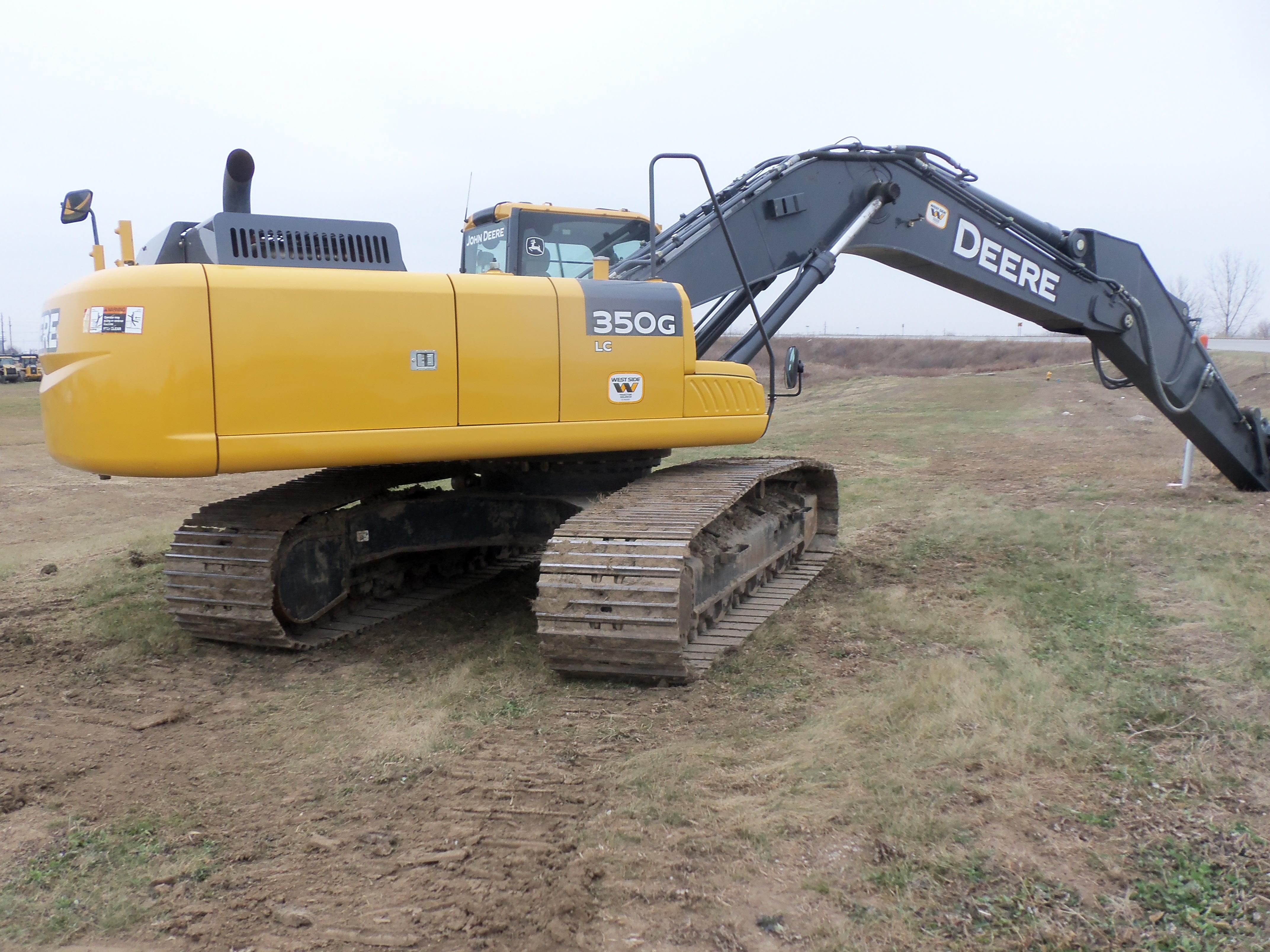 John Deere 350G LC | JD construction equipment | Pinterest