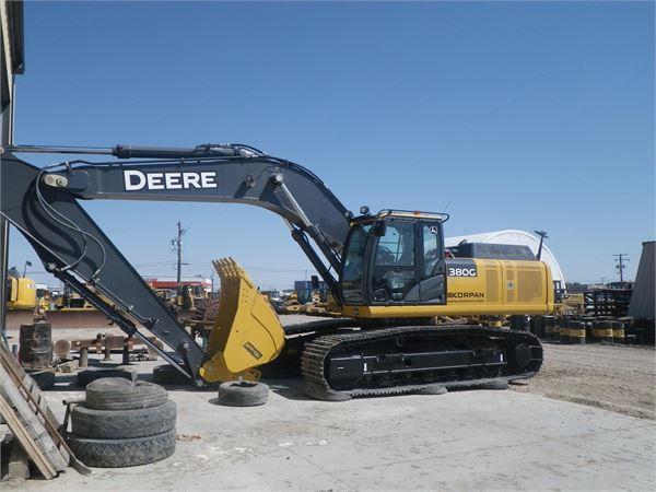 John Deere 380G LC - Crawler excavators, Year of manufacture: 2015 ...