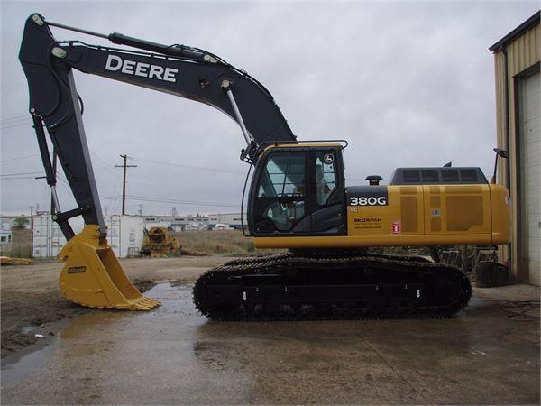 John Deere 380G LC - Year: 2013 - Crawler excavators - ID: 437321A3 ...