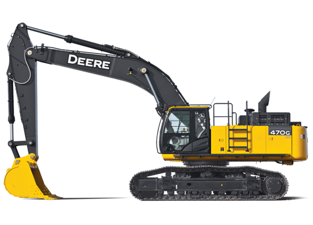 Production-Class Excavator | 470G LC | John Deere US