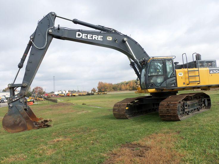 367hp John Deere 470G LC hydraulic excavator