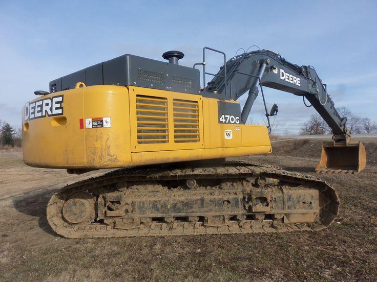 The John Deere 470G LC excavator | BIG BOYS Toys! | Pinterest