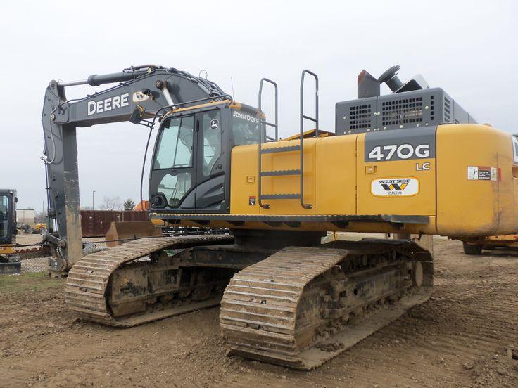 367 hp John Deere 470G LC | Construction Equipment | Pinterest