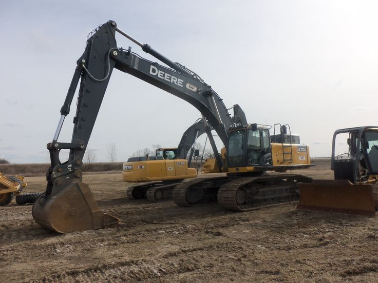 John Deere 470G LC hydraulic excavator | JD construction equipment ...