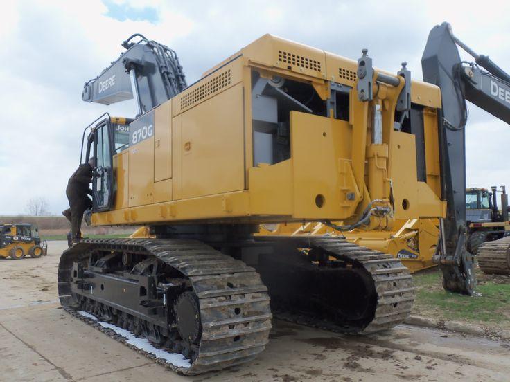 532hp John Deere 870G LC excavator | Tractors | Pinterest | John Deere