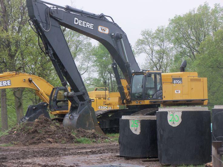 532hp John Deere 870G LC excavator | Heavy Equipment | Pinterest