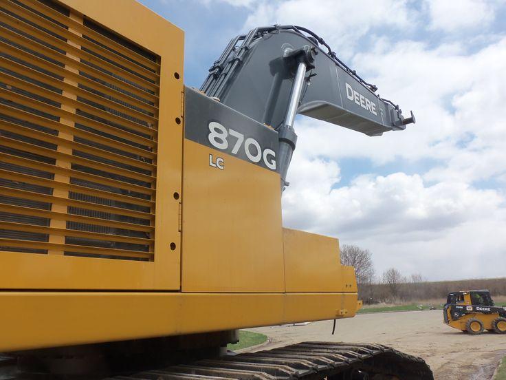 JOhn Deere 870G LC excavator | JD construction equipment | Pinterest
