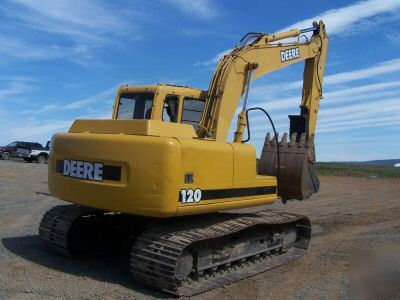 John deere 120 construction excavator,commercial