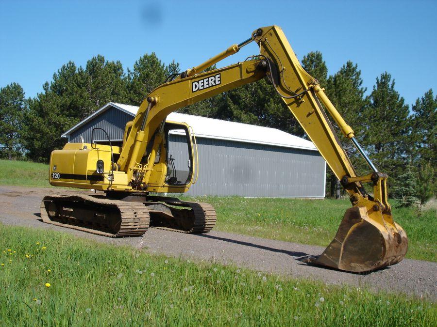 2001 John Deere 120 Excavator - Steve Conley Sales ...