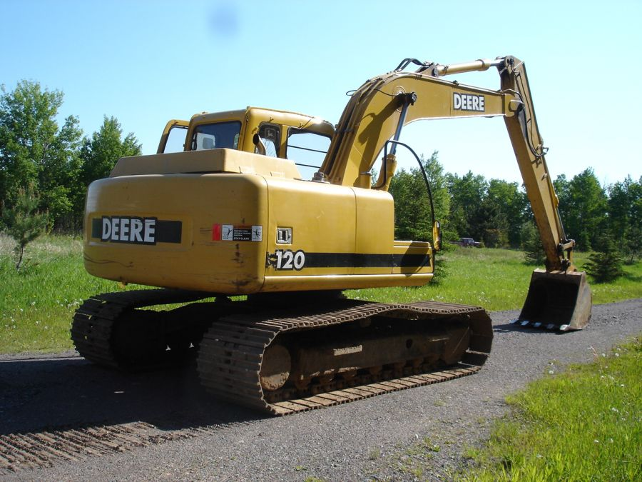 John Deere 120 Excavator Related Keywords & Suggestions ...