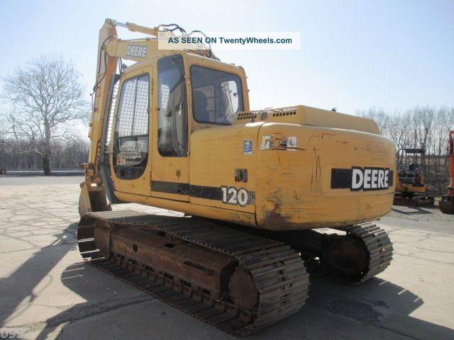2000 John Deere 120 Hydraulic Excavator,, Machine