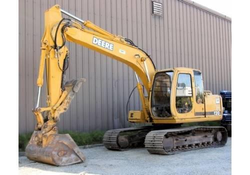 Sell 1999 John Deere 120 Hydraulic Excavator QC Cab Heat ...