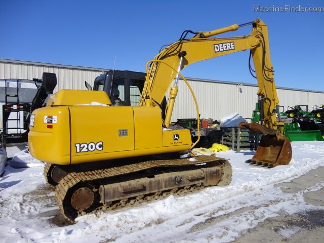 2006 John Deere 120C Excavator - John Deere MachineFinder