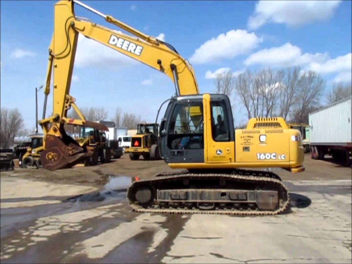 2005 John Deere 160C LC excavator for sale | sold at ...