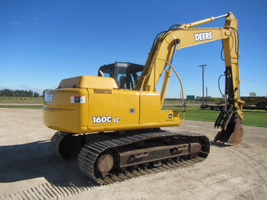 2006 John Deere 160C LC Excavator - Little League ...