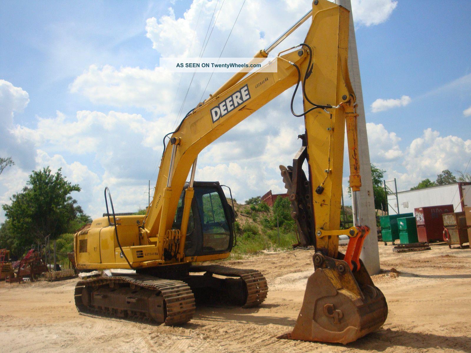 2006 John Deere 160c Lc Excavator