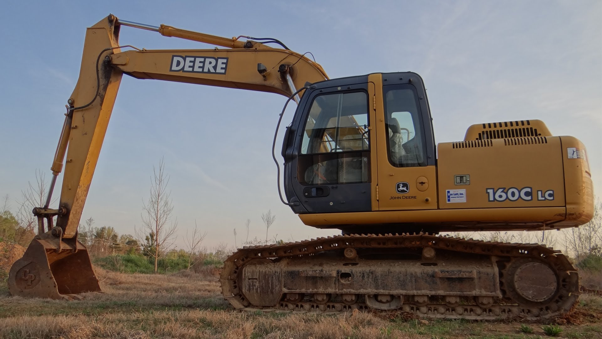 How To Operate A John Deere 160C LC-2 Excavator (Basic ...