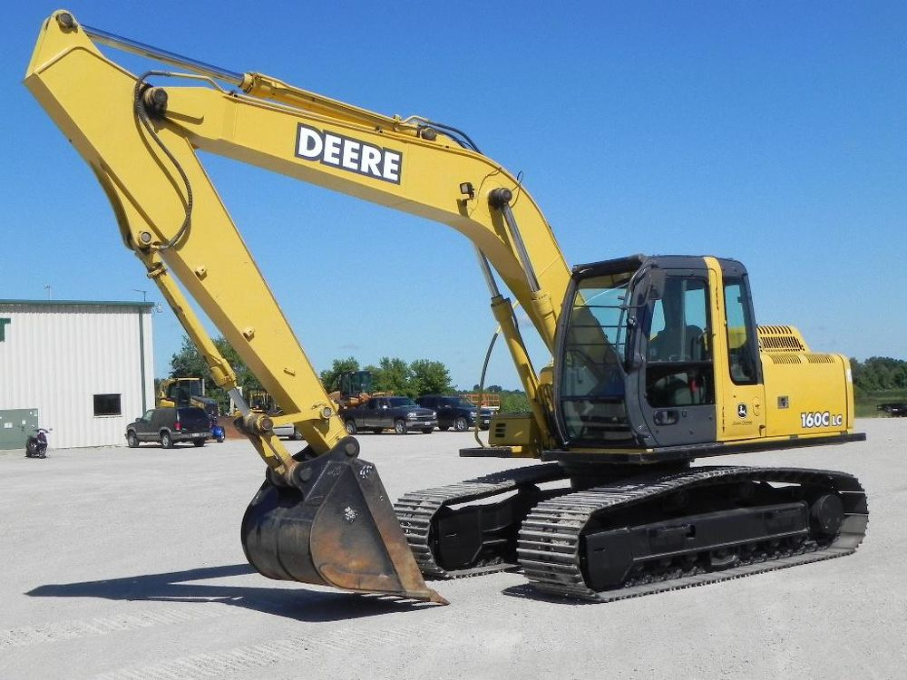 2006 John Deere 160C LC For Sale (3797332) from Hull's 151 ...