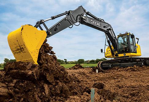 Excavator with FT4 Engine | 180G LC | John Deere CA