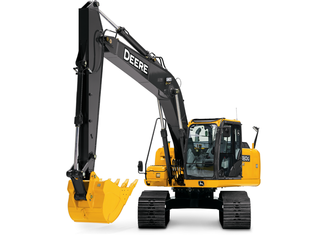 Excavator with IT4 Engine | 180G LC | John Deere US