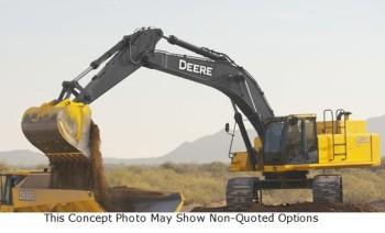 John Deere Excavator, Model 450D LC. (ID 180)