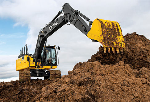 Gallery For > Excavator Digging