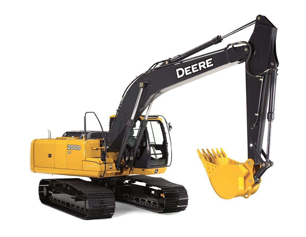 John Deere 200 D LC Excavator Rental | RENT1