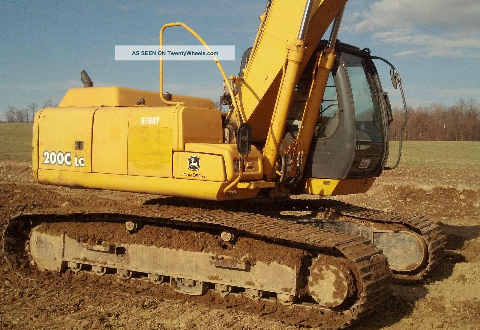 2006 John Deere 200c Lc Hydraulix Excavator