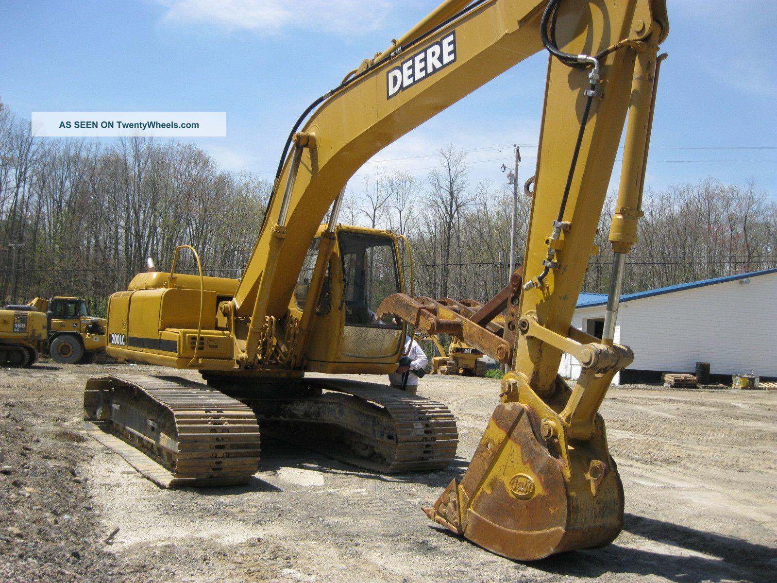 1996 John Deere 200lc Excavator