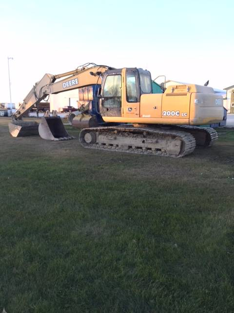 Used John Deere 200 C LC crawler excavators Year: 2007 ...