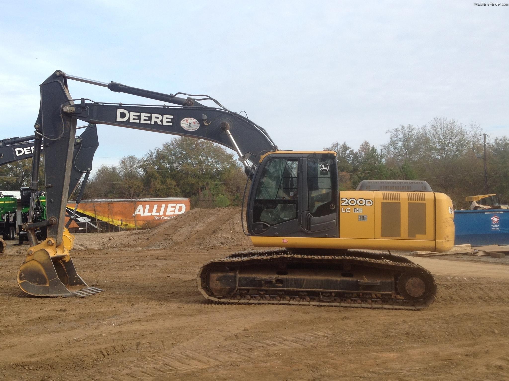 2011 John Deere 200D LC Excavator - John Deere MachineFinder