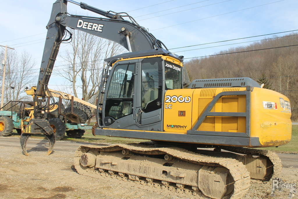 John Deere 200D LC Excavator #C1113 - Ricer Equipment, Inc.