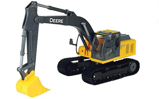 John Deere 200D LC excavator - farmmodeldatabase.com