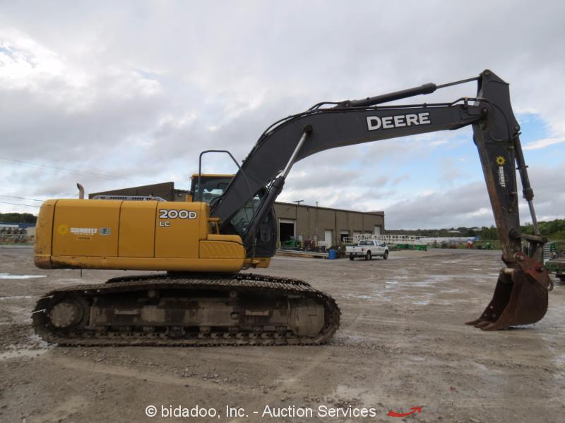 2012 John Deere 200D LC Hydraulic Excavator Aux Hyd A/C ...
