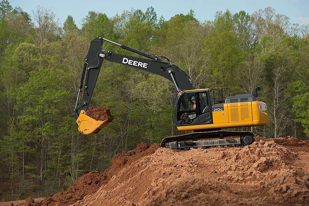 Machine of the day: John Deere 210G LC excavator ...
