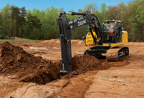 Final Tier 4 Excavator | 210G LC | John Deere US