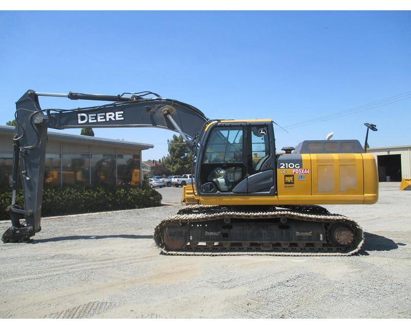 2013 John Deere 210G LC Excavator For Sale - Gilroy, CA ...