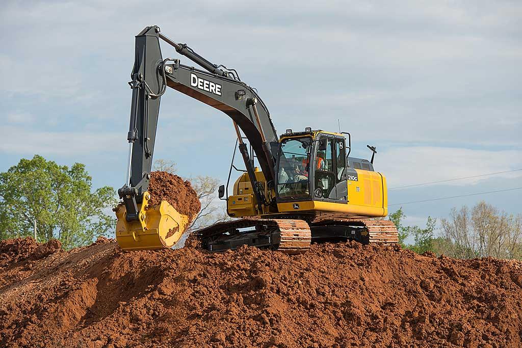 Machine of the day: John Deere 210G LC excavator ...