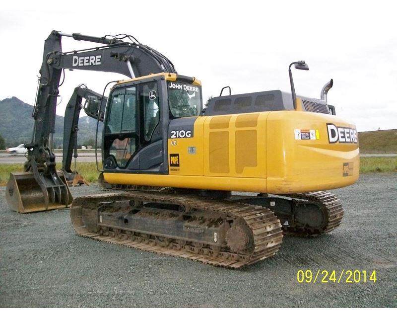 2012 John Deere 210G LC Excavator For Sale - Tacoma, WA ...