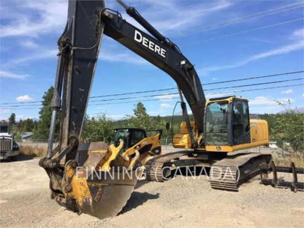 Used John Deere 240D LC crawler excavators Year: 2006 ...