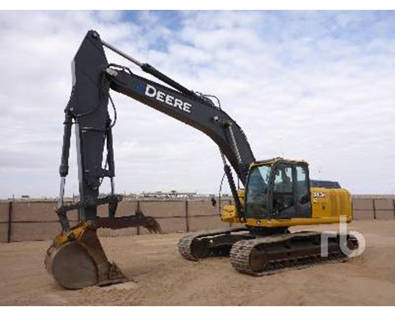 2007 John Deere 240D Excavator For Sale - Albuquerque, NM ...