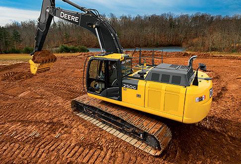 Final Tier 4 Excavator | 250G LC | John Deere US